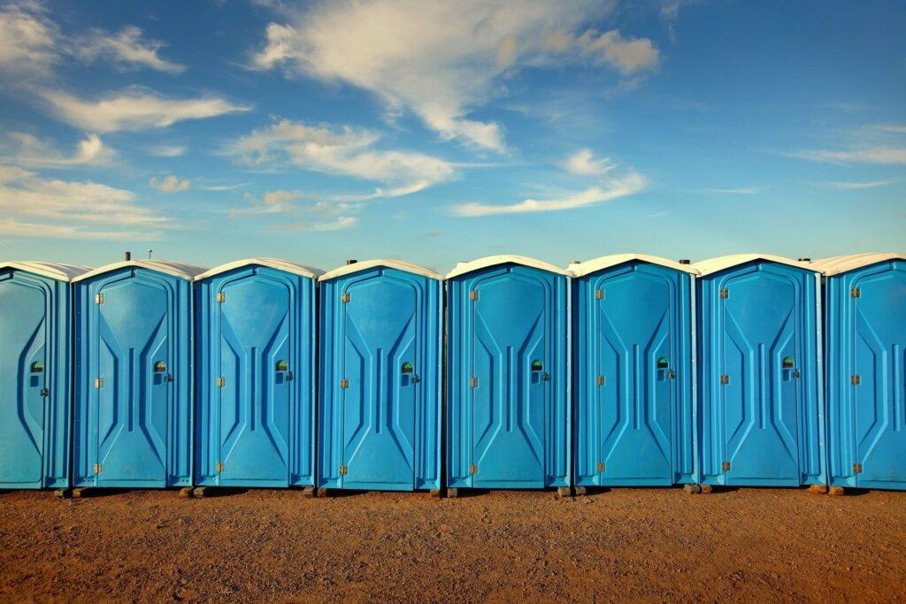 Portable toilet supplier
